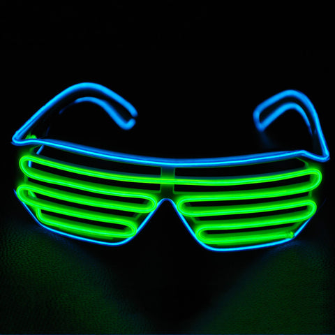 Neon Culture Sound Activated Glow Glasses