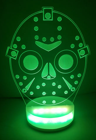 FRIDAY THE 13TH LED 3D LAMP LIMITED EDITION