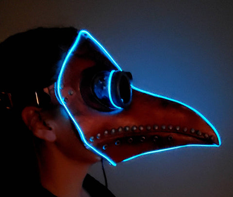 Plague Doctor Glow Mask