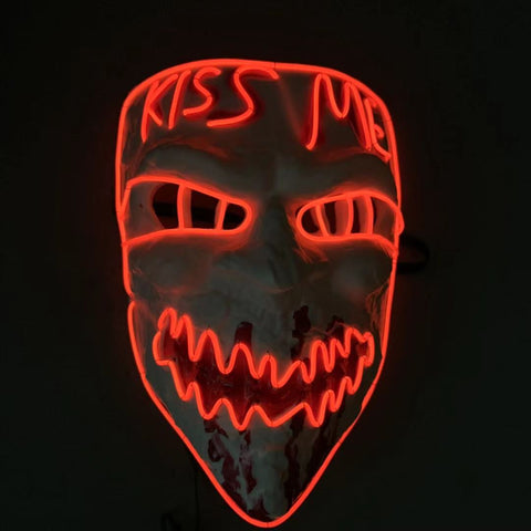 Kiss Me Purge LED Glow Mask