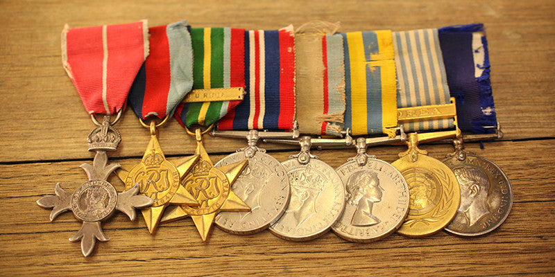 Wearing your medals on ANZAC Day