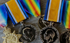 World War One Replica Medals