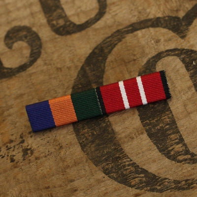 2 Medal Ribbon Bar-Ribbon Bar-Foxhole Medals