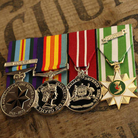 Popular Medal Groups - Vietnam Service Group - Foxhole Medals - 1