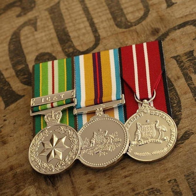 AASM-ICAT / Afghanistan Campaign Trio-Popular Medal Groups-Foxhole Medals
