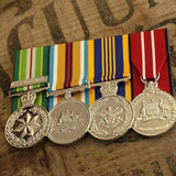 AASM-ICAT / Afghanistan Long Service Group-Popular Medal Groups-Foxhole Medals