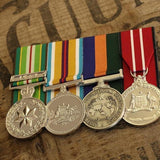 AASM-ICAT / Afghanistan / OSM / ADM Group-Popular Medal Groups-Foxhole Medals