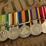 AASM-ICAT / Afghanistan / OSM / DLSM / ADM Group-Popular Medal Groups-Foxhole Medals