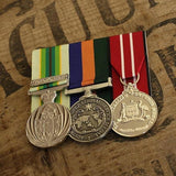 ASM / OSM Border Protection / Service Trio-Popular Medal Groups-Foxhole Medals