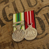 Australian Service Medal + 1 clasp / Australian Defence Medal Duo-Popular Medal Groups-Foxhole Medals