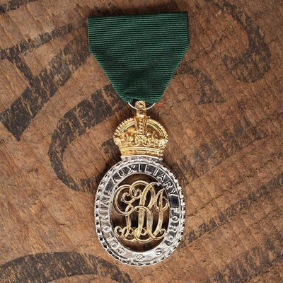 Colonial Aux Forces Off. Decoration-Replica Medal-Foxhole Medals