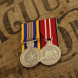 Defence Long Service Medal / Australian Defence Medal Duo-Popular Medal Groups-Foxhole Medals