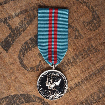 King GV 1911 Coronation-Replica Medal-Foxhole Medals