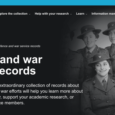 Military Research - National Archives of Australia (NAA) Service Records Request-Foxhole Medals-Foxhole Medals