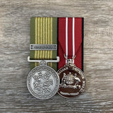 National Emergency Medal + 1 Clasp / Australian Defence Medal Duo-Popular Medal Groups-Foxhole Medals
