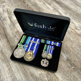 Operational Service Medal - GME / NATO - Afghanistan Medal Duo-Popular Medal Groups-Foxhole Medals-Collection-None-Standard (10 Business Days)-Foxhole Medals