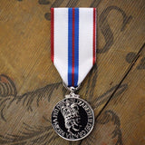 Queen EII 1977 Silver Jubilee-Replica Medal-Foxhole Medals