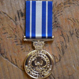 SA Police Diligent & Ethical Service Medal-Medal Range-Foxhole Medals