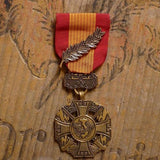 Vietnamese Cross of Gallantry with Palm-Replica Medal-Foxhole Medals