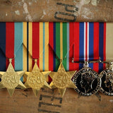 WW2 Africa / Pacific Service Group-Popular Medal Groups-Foxhole Medals