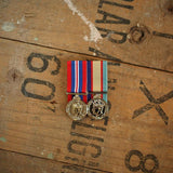 WW2 Duo-Popular Medal Groups-Foxhole Medals