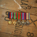 WW2 Pacific / Defence Service Group-Popular Medal Groups-Foxhole Medals