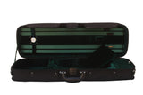 green oblong violin case