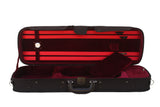 red oblong violin case