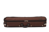 brown exterior violin case