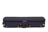 blue exterior violin case