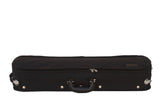 black exterior violin case