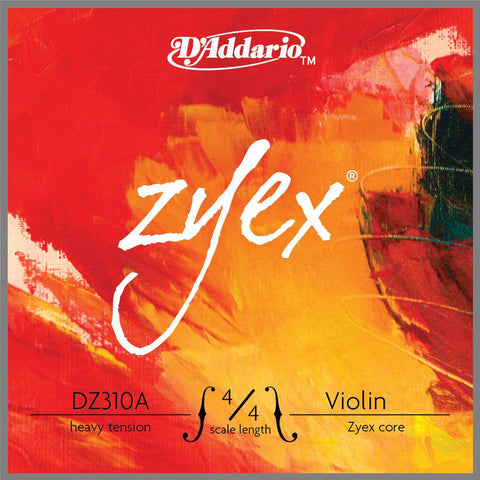 zyex synthetic core violin strings