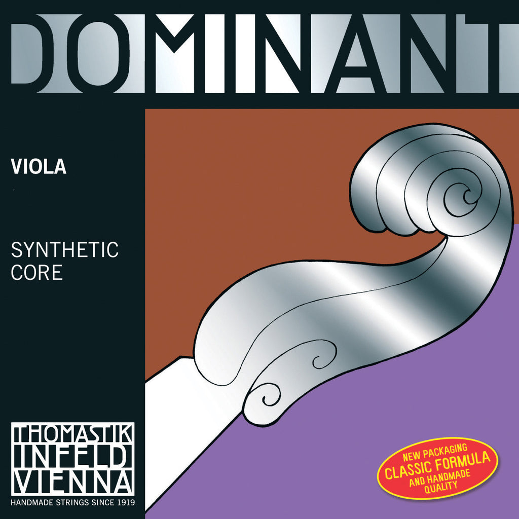 thomastik dominant synthetic core viola strings