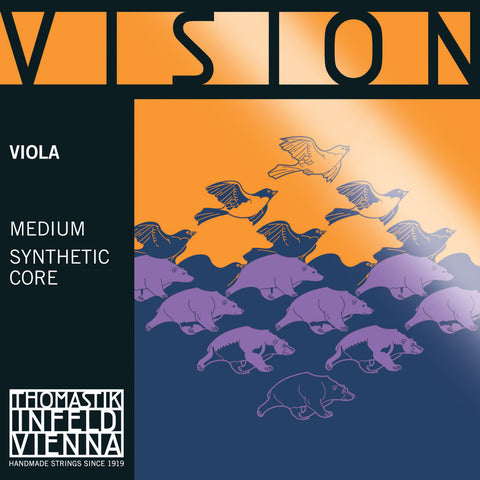 thomastik vision synthetic viola strings