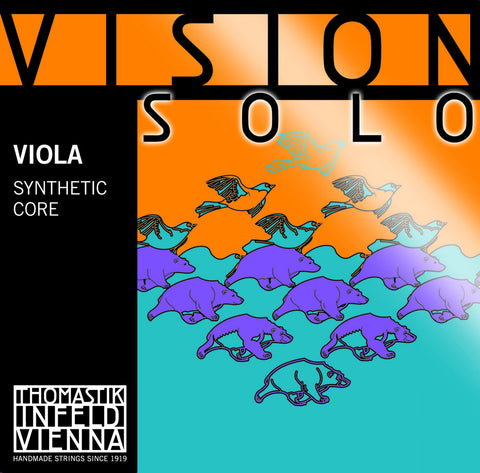 thomastik vision solo viola strings