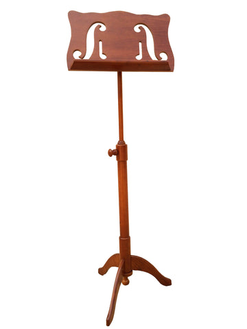artistic wooden music stand