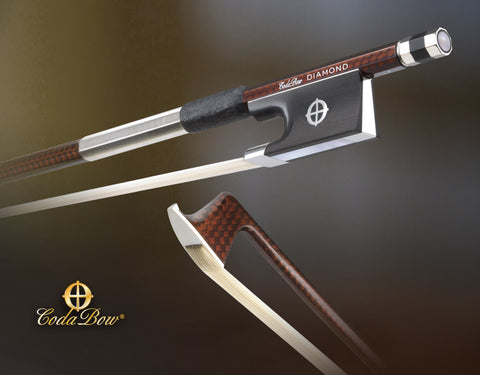 codabow diamond nx carbon fiber violin bow