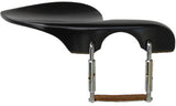 guarneri ebony chinrest for violin and viola