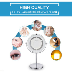 X5 Magnifying Lighted Mirror