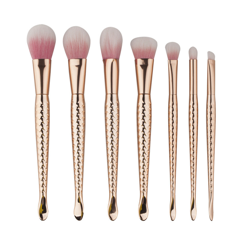 Rosegold Mermaid 7 Pieces - Dolovemk Beauty