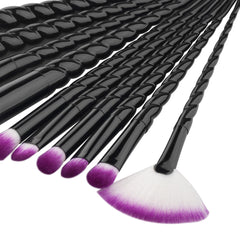 Unicorn Brushes Black
