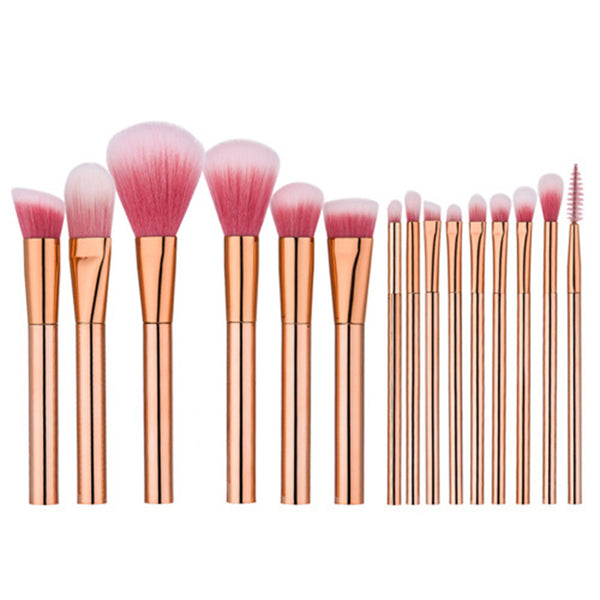 Rose Gold Brushes Set - Dolovemk Beauty