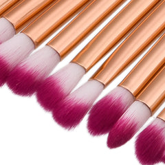 15 Pieces Eye Brushes - Dolovemk Beauty
