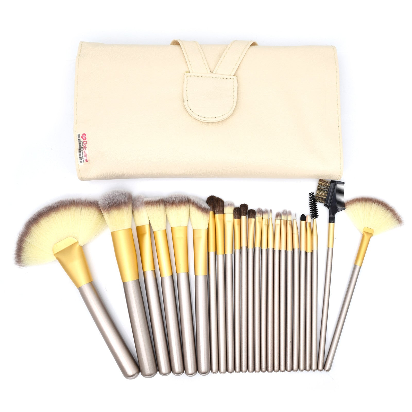 24 Brushes Set + PU Bag