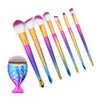 Colorful Mermaid Brushes Set