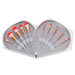 Diamond Brushes Set in Clamshell Case