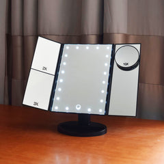 Lighted Make-up Mirror - Dolovemk Beauty
