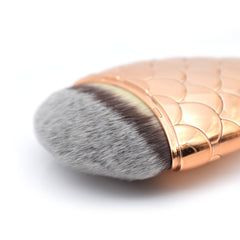 CHUBBY MERMAID BRUSH-Rose Gold - Dolovemk Beauty