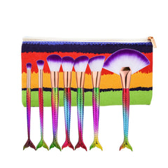 Mermaid Brushes with Bag