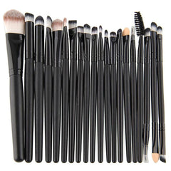 Set of 20, Makeup Eyeshadow/Eyeliner/Lip Brushes - Dolovemk Beauty